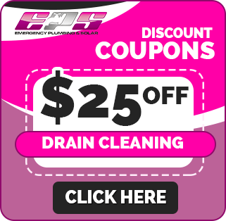 25 off drain cleaning