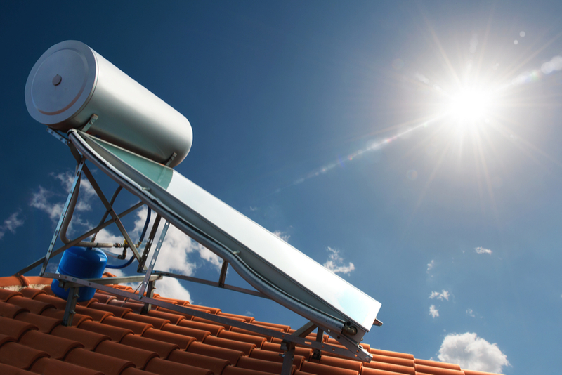solar water heater installation & repair
