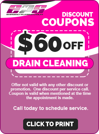 $60 OFF Drain Cleaning Coupon